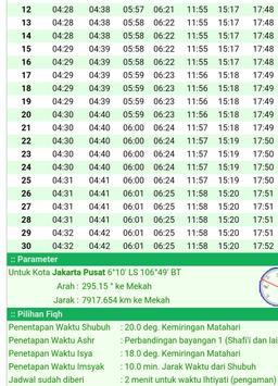 Jadwal Imsak Ramadhan Terbaru apk screenshot