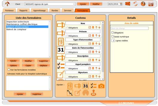 eSafeMe FORMS apk screenshot