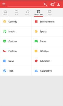 Vidmate -HD Video Downloader & Live TV apk tela