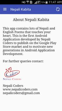 Nepali Kabita (Poems) apk screenshot