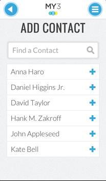 MY3 - Support Network apk screenshot