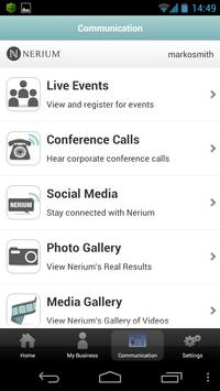 Nerium apk screenshot