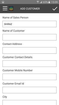 eFS Call Entry apk screenshot