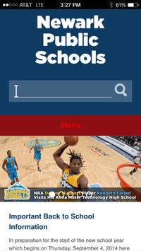 Newark Public Schools apk screenshot