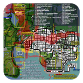 Maps for GTA san andreas icon