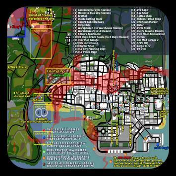 Maps for GTA san andreas apk screenshot