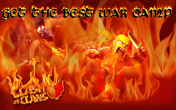 New Battle Camp for COC poster