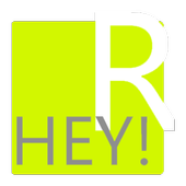 Hey!R -- chat with strangers icon