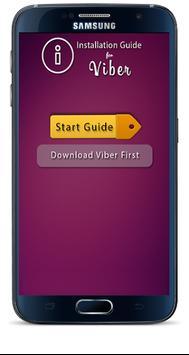 Info Guide for Viber poster