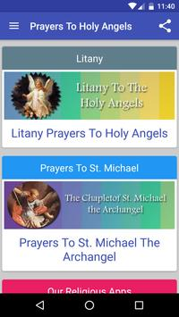 Prayers To Holy Angels apk screenshot