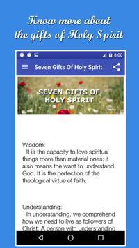 Holy Spirit Novena And Prayers apk screenshot