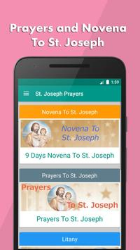 St. Joseph Novena Prayers poster