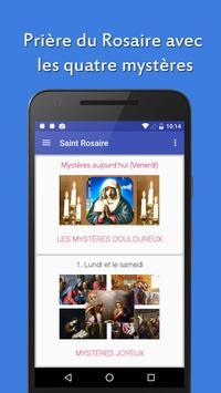 Saint Rosaire Français poster