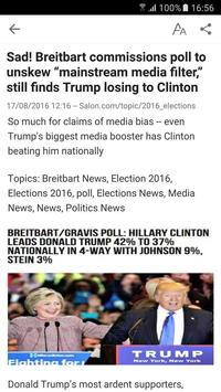 Election 2016 apk screenshot