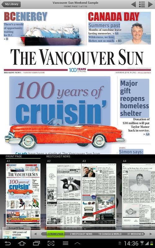 newspaper articles vancouver sun