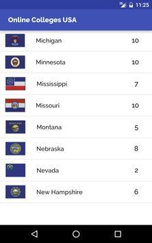 Online Colleges in USA apk screenshot