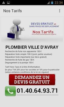 Plombier Ville d'Avray poster