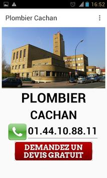 Plombier Cachan poster
