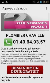 Plombier Chaville apk screenshot