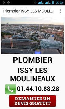 Plombier Issy les Moulineaux poster