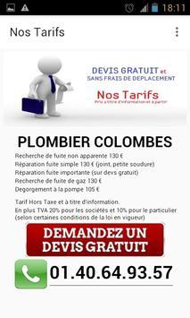 Plombier Colombes apk screenshot