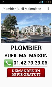 Plombier Rueil Malmaison poster