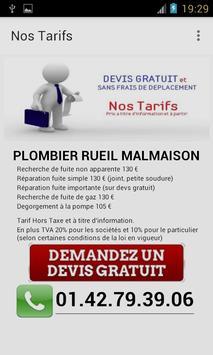 Plombier Rueil Malmaison apk screenshot