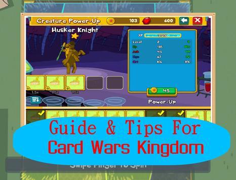 Guide for Card Wars Kingdom . apk screenshot
