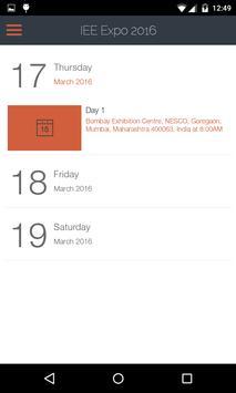 IEE Expo 2016 apk screenshot
