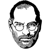Steven jobs quote collection icon