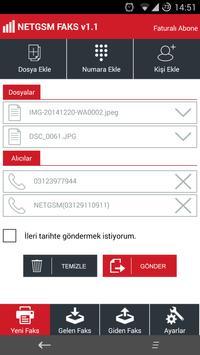 NETGSM MOBİL FAKS apk screenshot