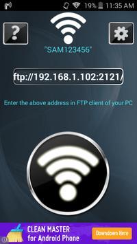 Wifi FTP - Wifi File Transfer poster