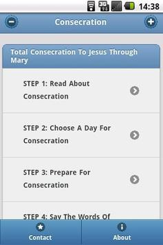 Consecration To Mary poster