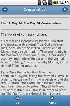Consecration To Mary apk screenshot