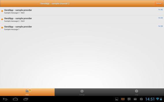 XendApp apk screenshot