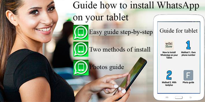Guide WhatsApp for tablet apk screenshot