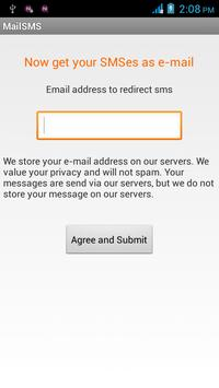 SMS2Mail poster