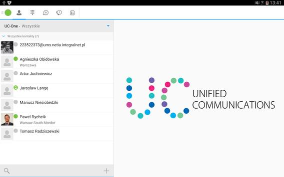 Netia_UnifiedCommunications apk screenshot