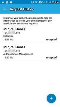 NetIQ Advanced Authentication apk screenshot