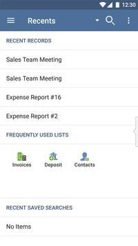 NetSuite apk screenshot