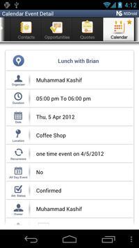 NSDroid for NetSuite CRM apk screenshot