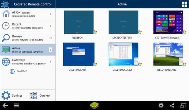 CrossTec Remote Control apk screenshot