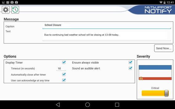 NetSupport Notify Console apk screenshot