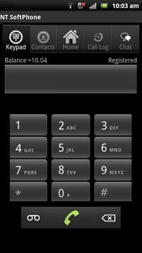 NT SoftPhone apk screenshot