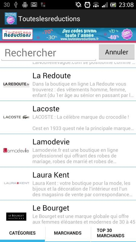 Tlr code reduction et promo apk download free shopping - Code reduction la redoute meuble ...