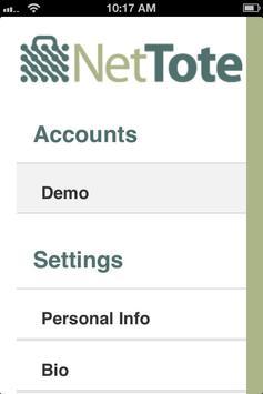 NetTote apk screenshot