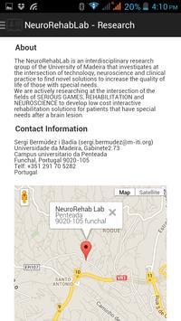 NeuroRehabLab - Research poster