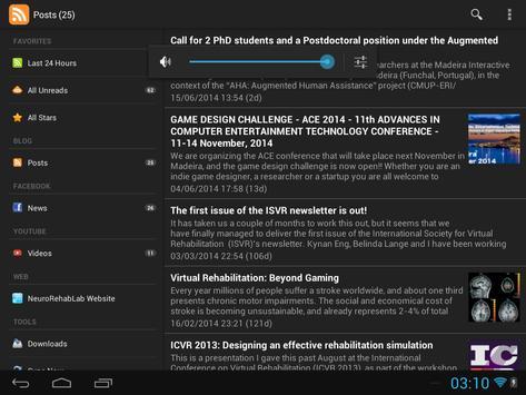 NeuroRehabLab - Research apk screenshot