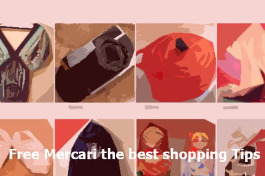 Free Mercari the shopping Tips poster