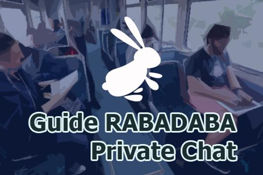 Guide RABADABA Private Chat poster